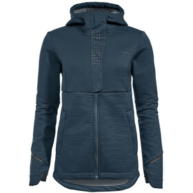 VAUDE Cyclist Winter Softshell Jacket Women steelblue